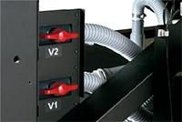 Vacuum unit/suction valve