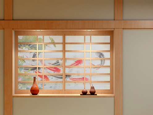 UCJV300-160: Shoji (sliding paper door)
