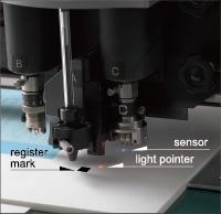 Mark-sensor function