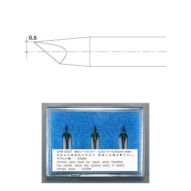 SPB-0007 Swivel Blade for fluorescent sheet
