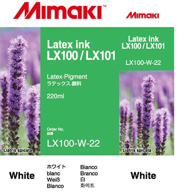 LX100-W-22 LX100/LX101 Latex Ink cartridge White