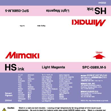 SPC-0589LM HS Light Magenta