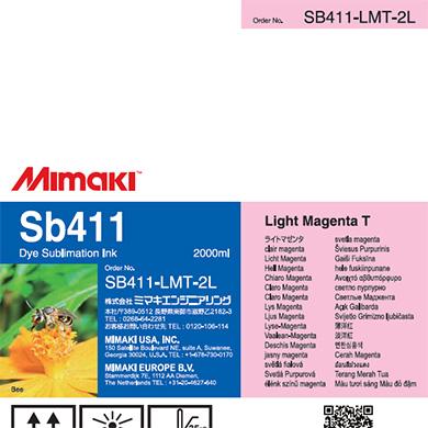 SB411-LMT-2L Sb411 Light Magenta T