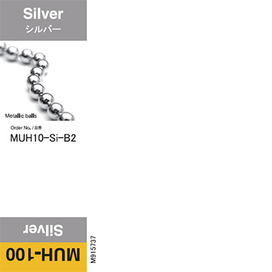 MUH10-Si-B2 MUH-100 UV curable ink 200ml bottle Silver