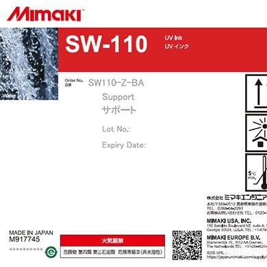 SW110-Z-BA 3D SUPPORT INK SW-110 1L BOTTLE