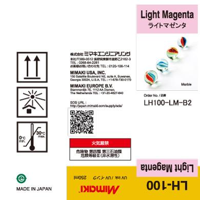 LH100-C-B2 LH-100 Light Magenta