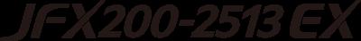 JFX200-2513 EX logo