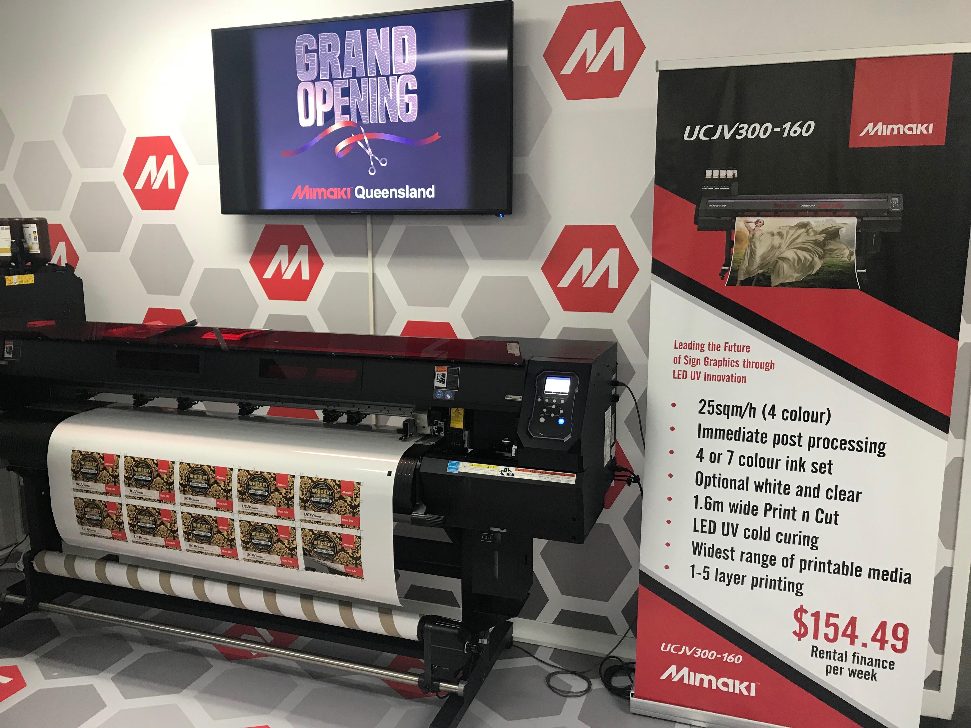 Mimaki Australia OPENS Brand NEW Queensland Facility