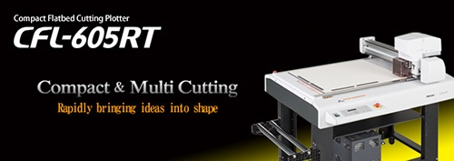 CFL-605RT | Compact Flatbed Cutting Plotter